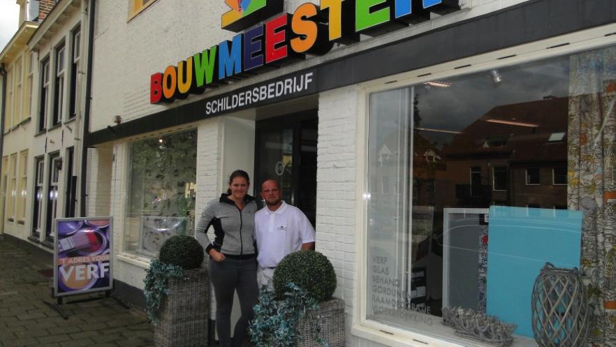 Nieuwe eigenaren Esther en Michael Bouwmeester